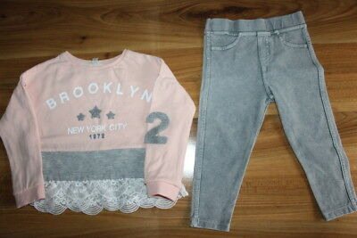 River Island girls jumper jeggings bundle 2-3 years *I'll combine postage""
