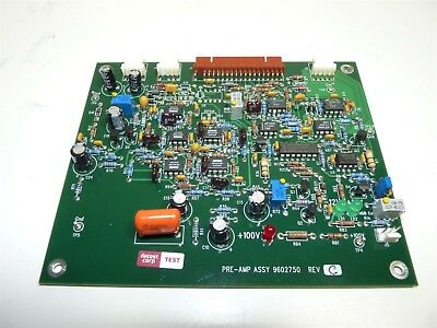 Sequoia Pre-AMP 9602750 Rev. C Board - Abbott Cell-DYN 1800 Hematology Analyzer