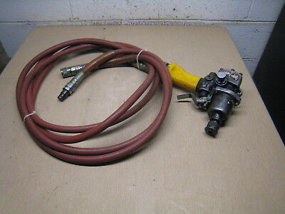 Stanley Model Ido4810 7595 Hydraulic Impact Wrench With 8' Hoses Impact Tool
