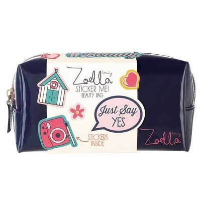 Zoella Sticker Me Beauty Bag  style your beauty bag