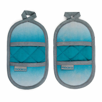 Progress MFPRO10976-OMB Performance Magnetic Microwave Mitts, Teal/Grey