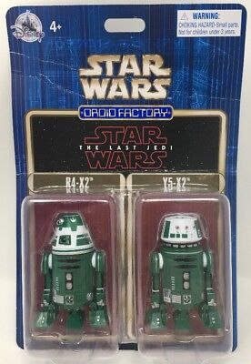 Disney Parks Star Wars The Last Jedi Droid Factory R4-X2 & Y5-X2