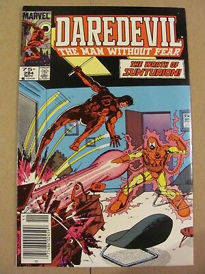 Daredevil #224 Marvel NETFLIX Canadian Newsstand $0.75 Price Variant 9.2 NM-