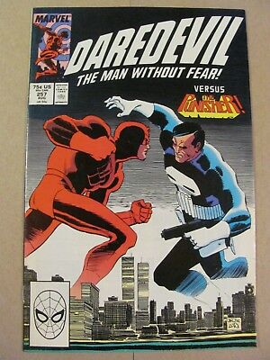 Daredevil #257 Marvel Comics NETFLIX Punisher x-over app 9.2 Near Mint-