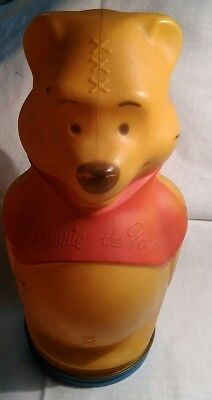 Nabisco WINNIE THE POOH 1966 Puppets Wheat puffs Bank Container VINTAGE