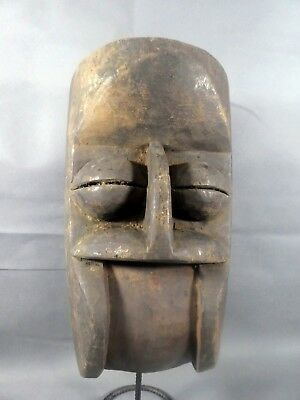 Old Tribal Bete Colonial Mask Cote d'Ivoire Fes-Gb902