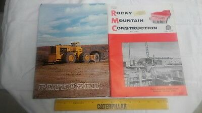 Rocky Mountain Construction Mag. March 5, 1962  Project Articles and Old Ads