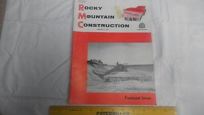 Rocky Mountain Construction Mag. Jan 22, 1962  Project Articles and Old Ads