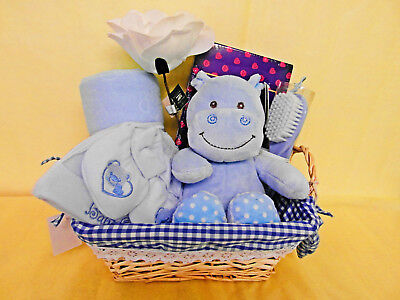 Newborn Boy Baby Hamper Baby Shower Gift Nappy Cake New Mum Present Maternity
