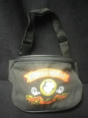 Felix the Cat Black New Zippered Fanny Pack