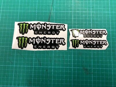 Monster Energy Stickers X4  Monster Drink