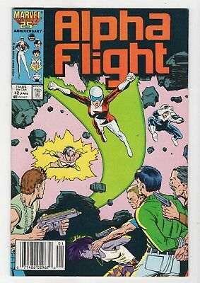 Marvel Comics Alpha Flight #42 Copper Age