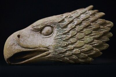 Ancient Roman BÖNE Amulet depicting Head of Legion Eagle Aquila, circa 250-350Ad