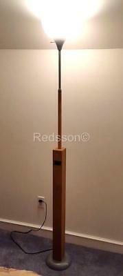 Redsson Handcrafted Art-ique Steampunk Wood Single Pipe ORGAN Floor Lamp  PL04