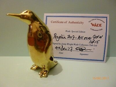 Wade New Release Penguin All Over Gold Only 15 Made