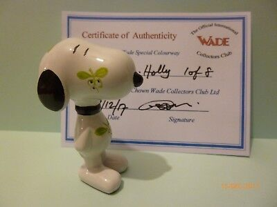Wade Snoopy With Holly Le 8 Rare