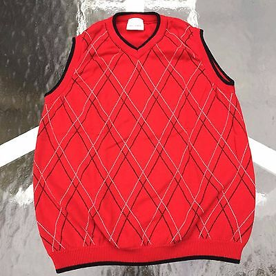 Hanna Andersson Boy's AWESOME RED VEST 150 Excellent!! Worn 2-3 times. Unique!!