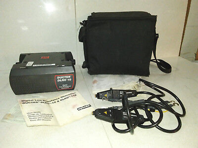 AVO-MEGGER-DLRO-10-Digital Low Resistance OhmMeter w/Leads, Case & Manual