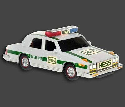 1993 HESS TRUCK POLICE PATROL CAR w/ FLASHING LIGHTS, SIREN SOUNDS * NEW * MIB