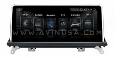 """10.25"""" BMW X5 X6 Series E70 E71 Android Multimedia Navigation System"""
