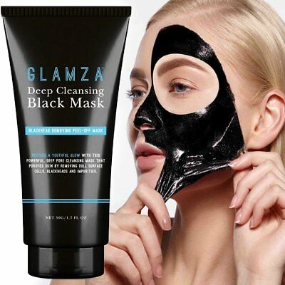 Glamza Blackhead Removal Peel-off Purifying Deep Cleaning Facial Mask 50ml