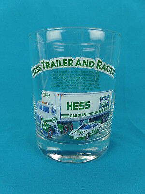 1992 Hess Trailer And Racer Glass 1996 Classic Truck Series