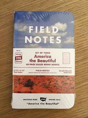 Field Notes FNC-18: Spring 2013 America the Beautiful Limited Edition