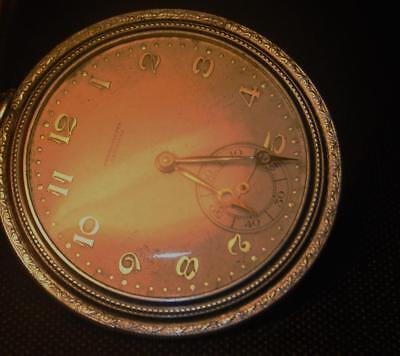 Old Very Rare Art Deco Chronometre Germinal Pocket watch 1920s Early