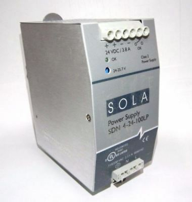 Sola SDN 4-24-100LP Power Supply