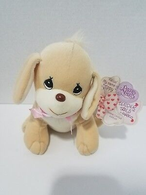 Limited Edition Vintage Tippy Dog Precious Moments Tender Tails Plush Plushie