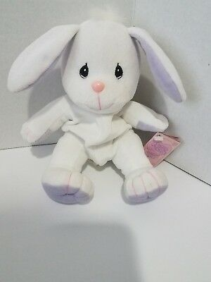 Vintage Bunny Rabbit Precious Moments Tender Tails Plush Plushie Stuffed 1998
