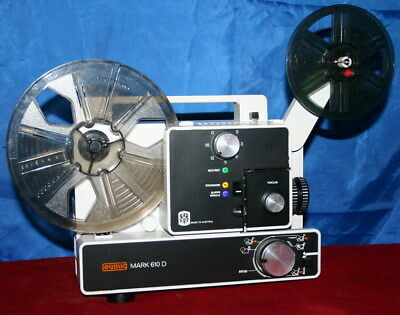 PROJECTOR HEAVEN   EUMIG 610D  DUAL 8mm SILENT MOVIE PROJECTOR, SERVICED A1