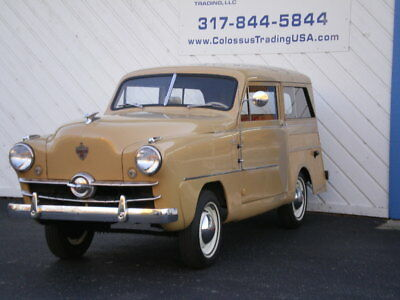 1951 Crosley G80 SUPER STATION WAGON 1951 CROSLEY SUPER STATION WAGON, OLDER RESTORATION, RECENT MAJOR SERVICE