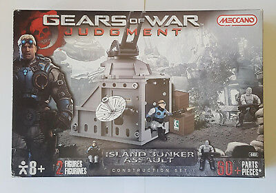 Gears Of War Judgment Island Bunker Assault Construction Set Meccano Brand New