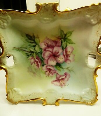 Hand Painted Porcelain Tray by Louise Evans