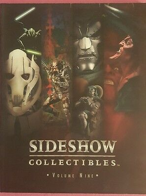 Sideshow Collectibles Volume Nine 2005 Catalog Book Figurines Statues Star Wars