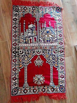 Turkish Tapestry  46 Inches By 26 Inches Cotton Rug