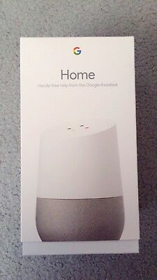 Google Home Smart Speaker Personal Assistant Brand New