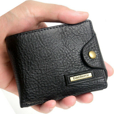 Men's Multifunction Leather Wallet Zipper Coin Purse Credit Card Holder Wallets