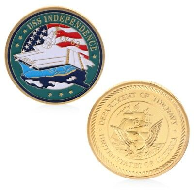 Independent CV62 Aircraft Carrier Navy Commemorative Coin Challenge Collection