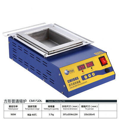 1PCS solder machine Digital Preheat Soldering Pot 304 stainless steel 900W 220V