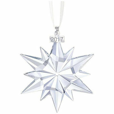 2017 Swarovski Crystal Annual Edition Christmas Ornament NIB #525789