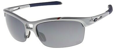 Oakley Women's RPM Squared Sunglasses OO9205-17 Silver with Black Iridium Lens