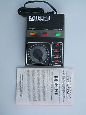 VINTAGE Model Train Control Tech 2 Locomotion 2500