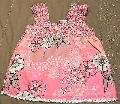 Girls Hit Brand Pink Cotton Blouse Top Size 6 New with Tag