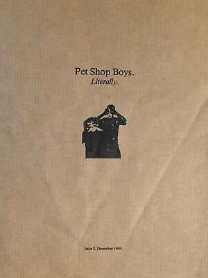 Pet Shop Boys Literally Issue 2