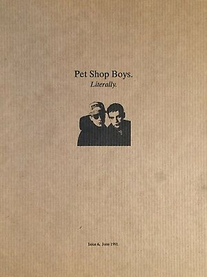 Pet Shop Boys Literally Issue 6
