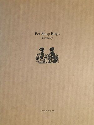 Pet Shop Boys Literally Issue 8