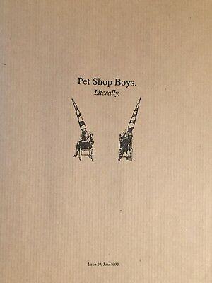 Pet Shop Boys Literally Issue 10