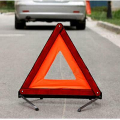 Reflective Warning Sign Fordable Triangle Car Hazard Breakdown Road Emergency Lh